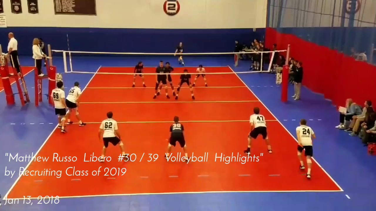 Matthew Russo S Men S Volleyball Recruiting Profile