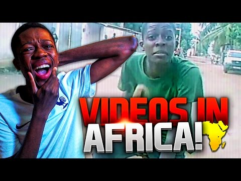 REACTING TO THE OLD VIDEOS I DID IN AFRICA !!