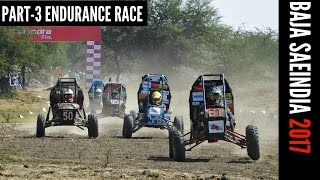 FULL COVERAGE : ENDURANCE RACE | Mahindra BAJA SAEINDIA 2017 | PART-3 thumbnail