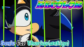 Recolor Sonic for Felipe