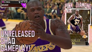 *UNRELEASED* PINK DIAMOND SHAQUILLE O'NEAL GAMEPLAY! SUPERMAN DROPS 50PTS! (NBA 2K19 MYTEAM)