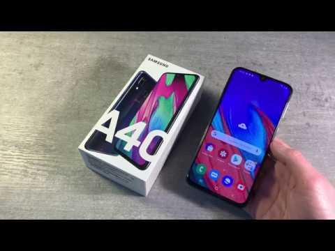 Обзор Samsung Galaxy A40 4/64 (A405F)