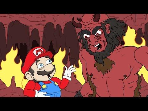 "Download Youtube: Super Mario Run Parody   ""Mario Goes To Hell"""