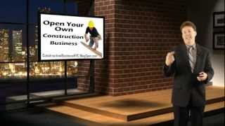 Start Your Own Construction Business