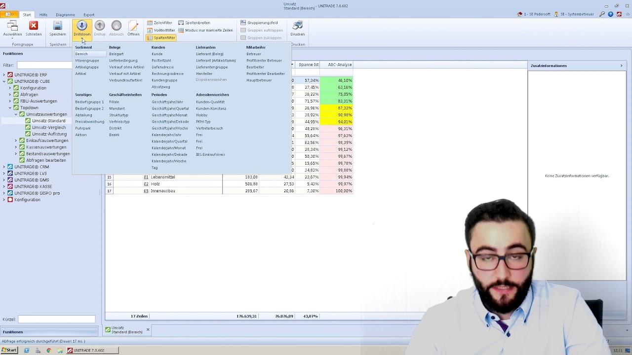UNITRADE® TV CUBE I Analyse-Tool - YouTube