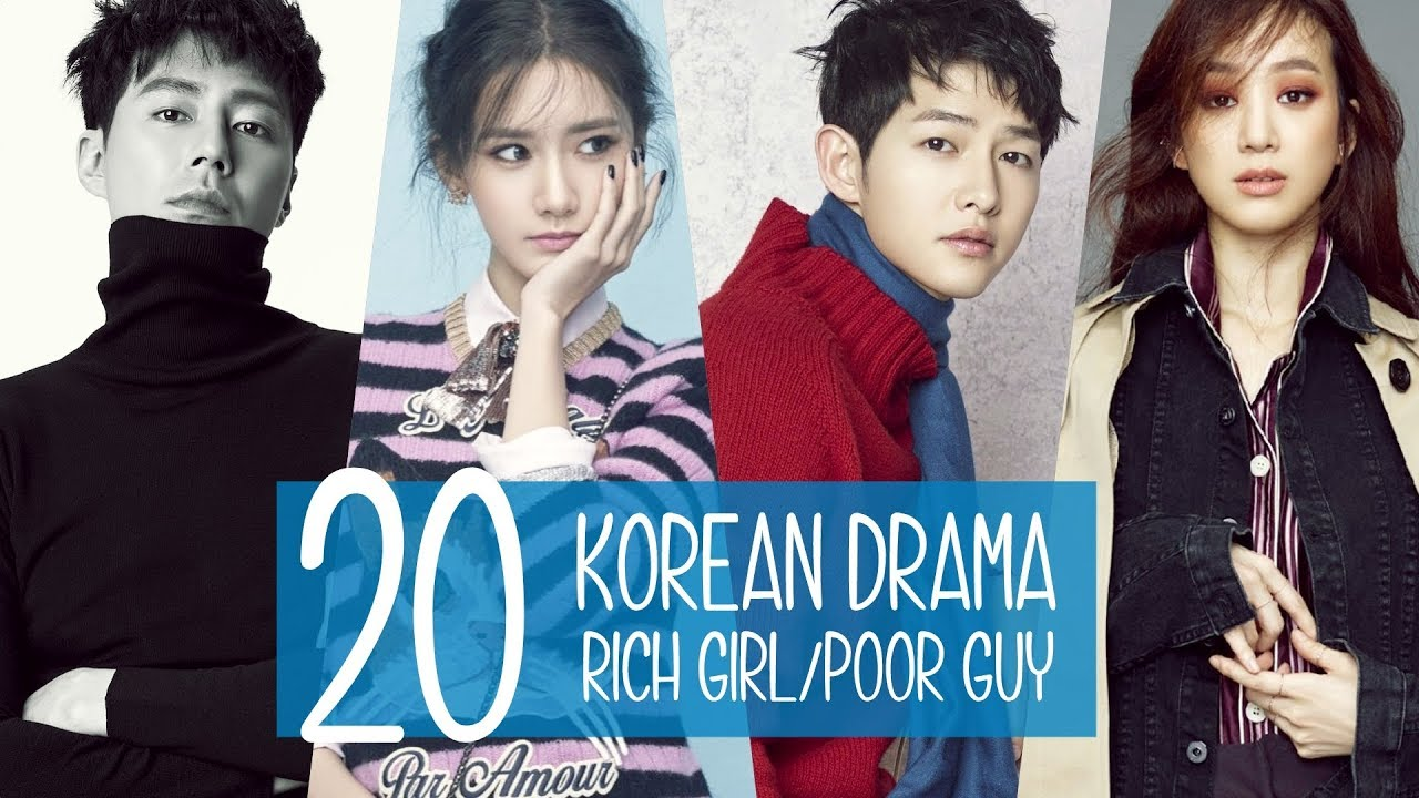 20 Korean Drama: Rich Girl/Poor Guy - YouTube