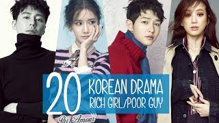 Video 20 Korean Drama: Rich Girl/Poor Guy download MP3, 3GP, MP4, WEBM, AVI, FLV November 2018