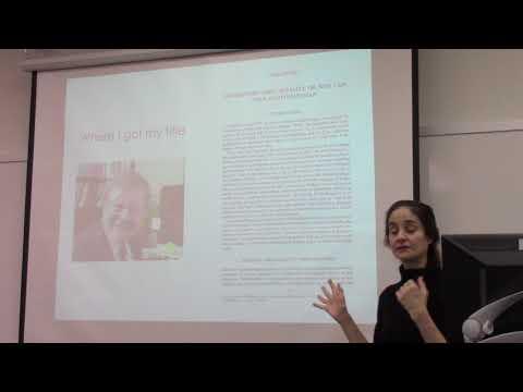 Jenann Ismael (Arizona) at Rutgers Foundations of Probability