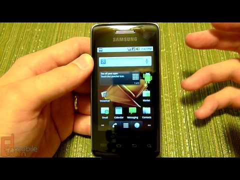 Samsung Galaxy Prevail (Boost Mobile) video tour - part 1 of 2