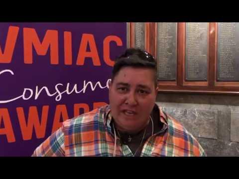Talking to Janet Karagounis at #VMIACAwards18