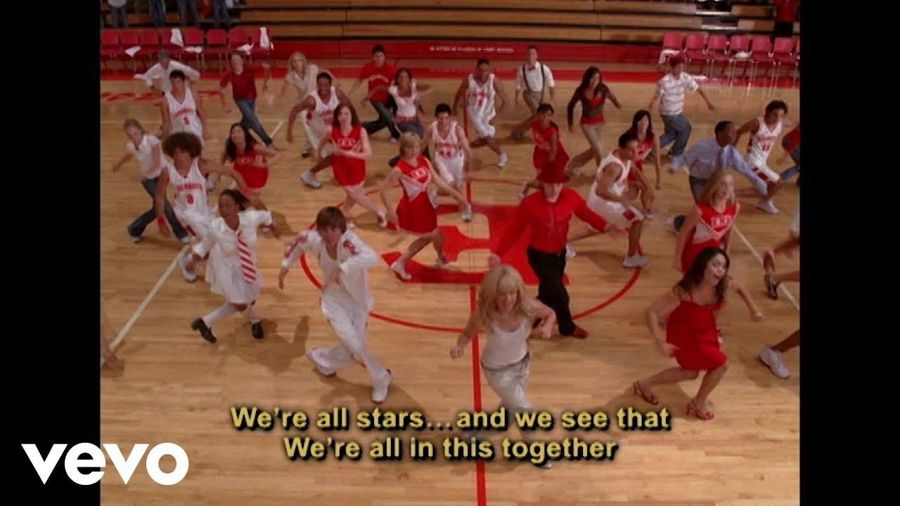 High School Musical Cast - We're All in This Together (Disney Channel Sing Along)