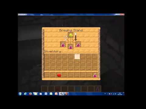 Minecraft Stärketrank brauen - YouTube