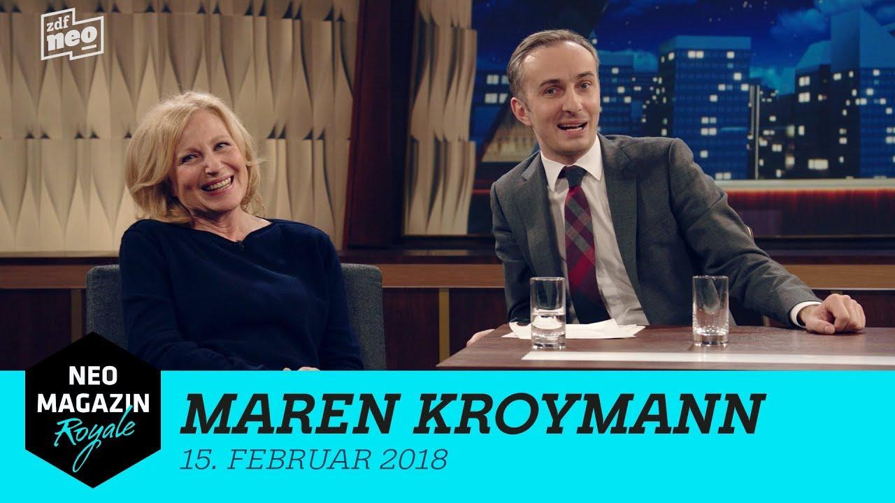 Heute Zu Gast Im Neo Magazin Royale Maren Kroymann Neo Magazin