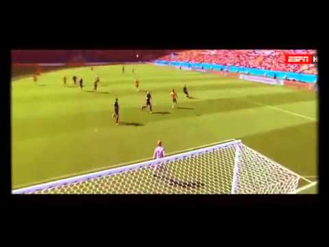Tim Cahill Goal volley Australia vs Netherlands 3-2 World Cup Brazil 2014