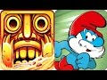 Temple Run 2 vs The Smurfs Games