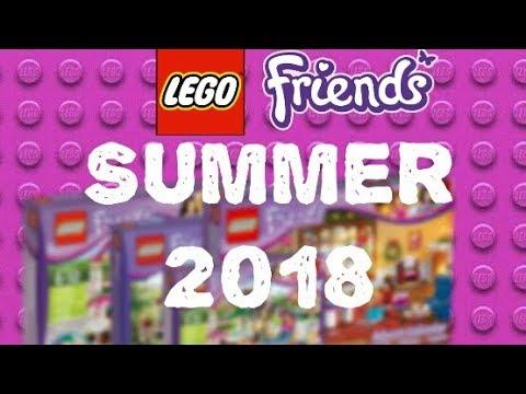 LEGO NEWS: LEGO Friends Summer 2018 sets list ( Accessories Store ...