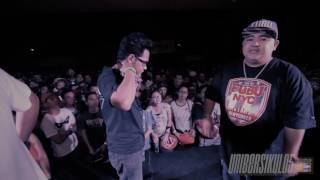 FlipTop - Crazymix/Bassilyo vs Cripli/Towpher @ DosPorDos 2017