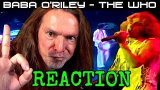 Vocal Coach Reacts To The Who - Baba O'Riley - Ken Tamplin
