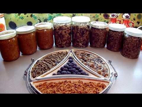 Грибная икра из опят и лисичек Как приготовить икру из грибов