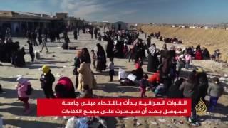 القوات العراقية تقتحم منطقة الفيصلية في الموصل