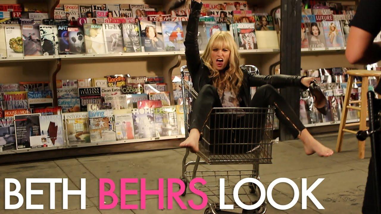 Beth Behrs music video