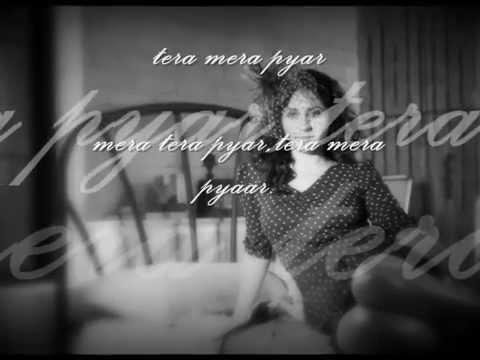 Neha Bhasin's - TERA MERA (Lyrics Version)