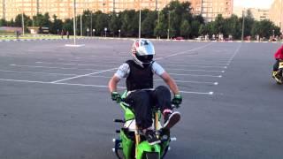 Высший пилотаж на мотоциклах !!!!  около Гиппо Гомель, Беларусь