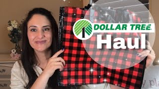 Dollar Tree Haul with Buffalo Plaid 😍