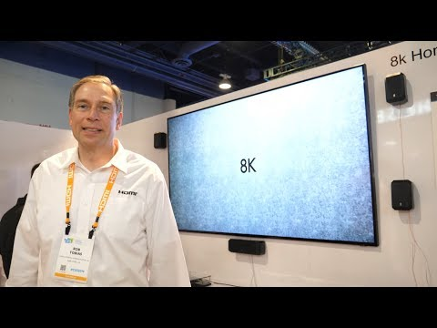 HDMI 2.1 for 8K at CES 2019 with Microsoft Xbox One X Enhanced Gaming
