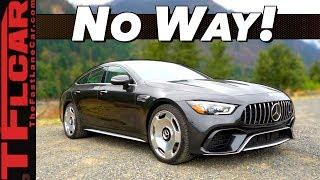 The 2019 Mercedes-AMG GT 63 S Has Features You've NEVER Seen Before!