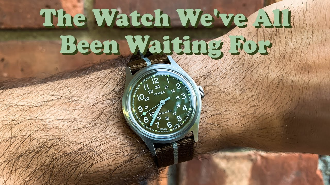 My Timex Mechanical MK1 Watch Review