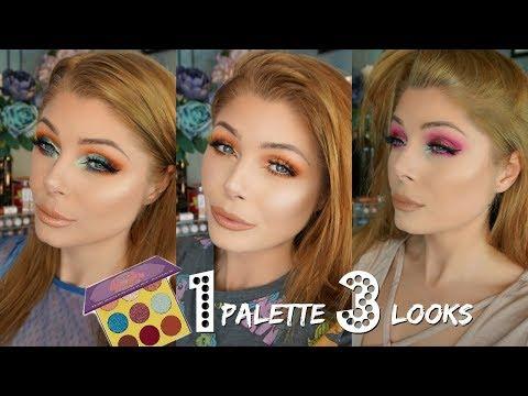 1 Palette 3 Looks   Juvias Place Saharan 2 Palette
