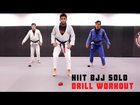 HIIT BJJ SOLO DRILL WORKOUT
