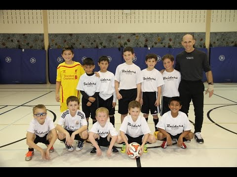 Soccer Phenom Bryce Blevins & Coach Tony Kees with The Bolingbrook Soccer Club U9 Raiders