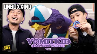 Vomit Kid (Fast Food Purple) by OKEH | MIGHTY UNBOXXING