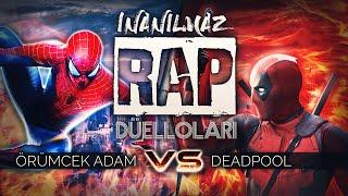 Deadpool vs Spiderman | İnanılmaz Rap Düelloları