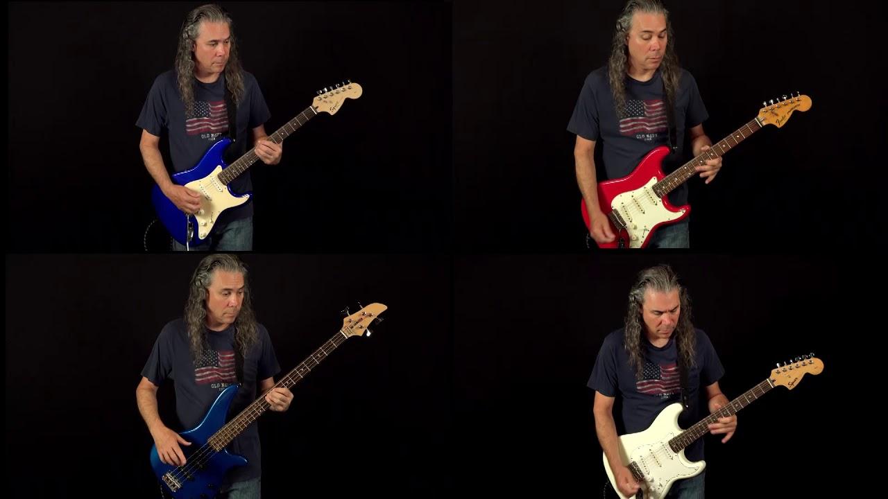 Star Spangled Banner Harmony Electric Guitars Youtube
