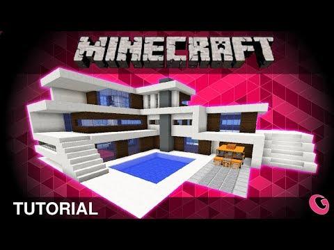 Minecraft: Modern House Tutorial / Jak Postavit Moderní Dům 04 (CZ/SK)