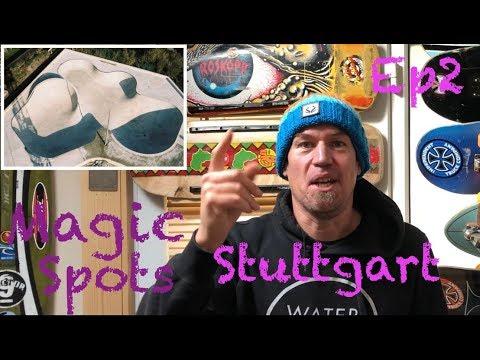 Magic Spots Ep 2 - Pragfriedhof Skatepark Mega Bowl, Stuttgart, Germany