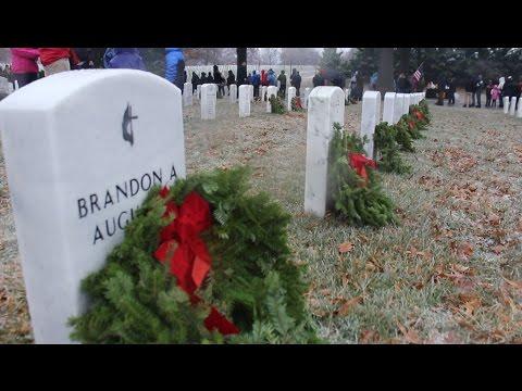 Wreaths Across America 2016 at Arlington National Cemetery