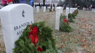 Wreaths Across America 2016 at Arlington National Cemetery