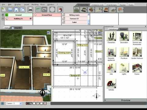 Superior 3D Home Design By Livecad Tutorials 03 The Terrace Part 13