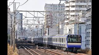 E235系1000番台 モハE234-1104形 大船→(普通)→東京