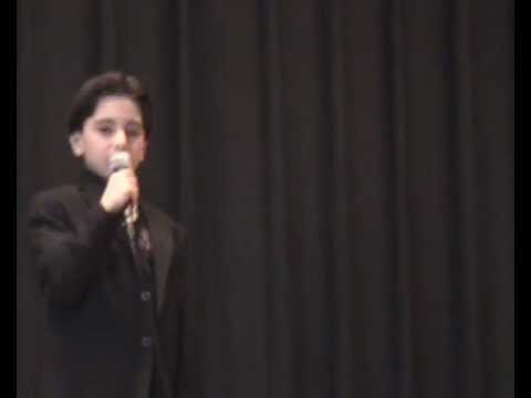 Hagop Vartanian In Nareg Armenian School Talent Show Ridgefield NJ 2012_03_31__