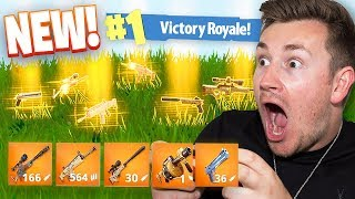 *NEW* GOLD GUN GAME | Fortnite: Battle Royale