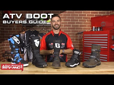 2016 ATV Boot Buyers Guide