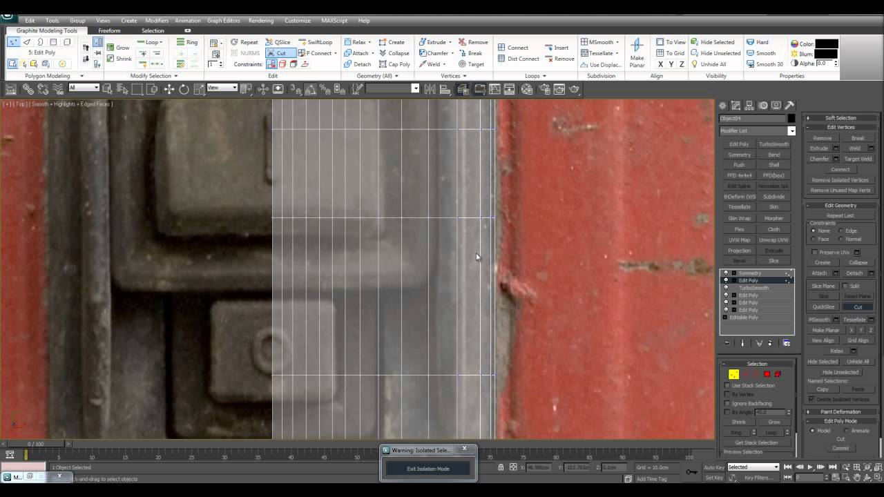 3D Modeling Tutorial 78 Modeling a Fuse Box Part 2
