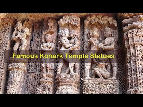 KONARK SUN TEMPLE | FIGURES OF LOVE | SECOND KHAJURAHO OF IN
