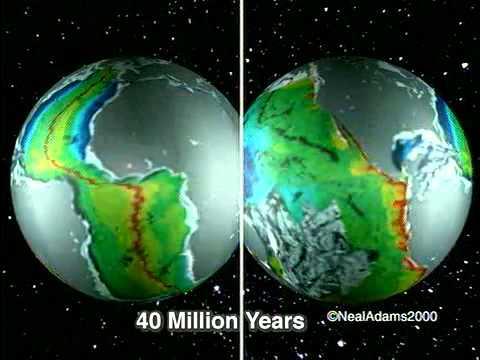 Growing Earth & continental drift (Alfred Wegener)