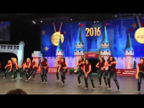 UNLV Rebel Girls | 2016 UDA National Champion Hip Hop Performance (Fan View)